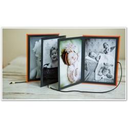 Album jamnik na zdjęcia 13x18cm- harmonijka