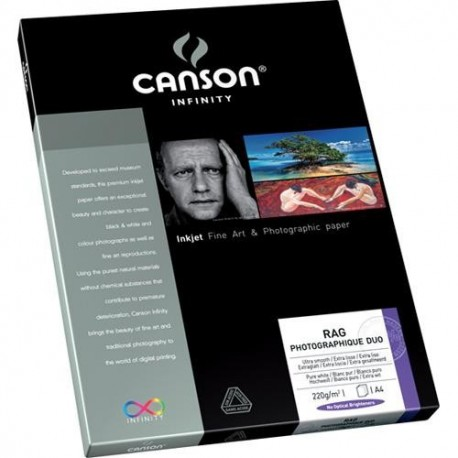 Wydruk A4 - Canson Infinity Rag Photographique Duo 220g