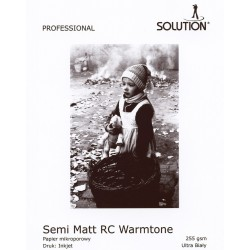 Wydruk 20x30 - Solution Semi-Matt Warmtone RC 255g
