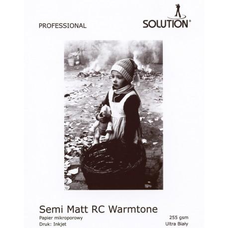Wydruk foto - Solution Semi-Matt Warmtone RC 255g