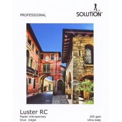 Wydruk 60x150 - Solution Luster RC 255g