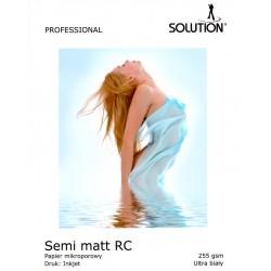 Wydruk 50x70 - Solution Semi-Matt RC UltraWhite 255g