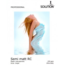 Wydruk 20x30 - Solution Semi-Matt RC UltraWhite 255g