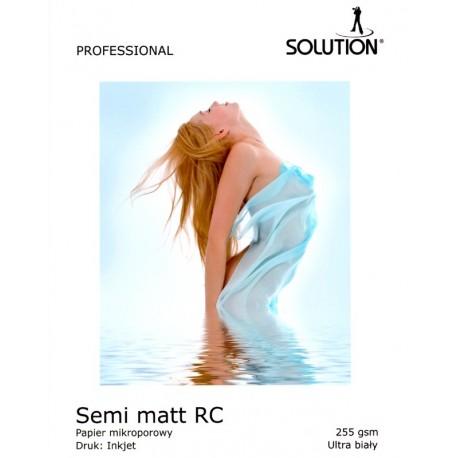 Wydruk 20x30 - Solution Semi-Matt RC UltraWhite 255g