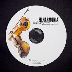 Etykieta na płytę CD/DVD